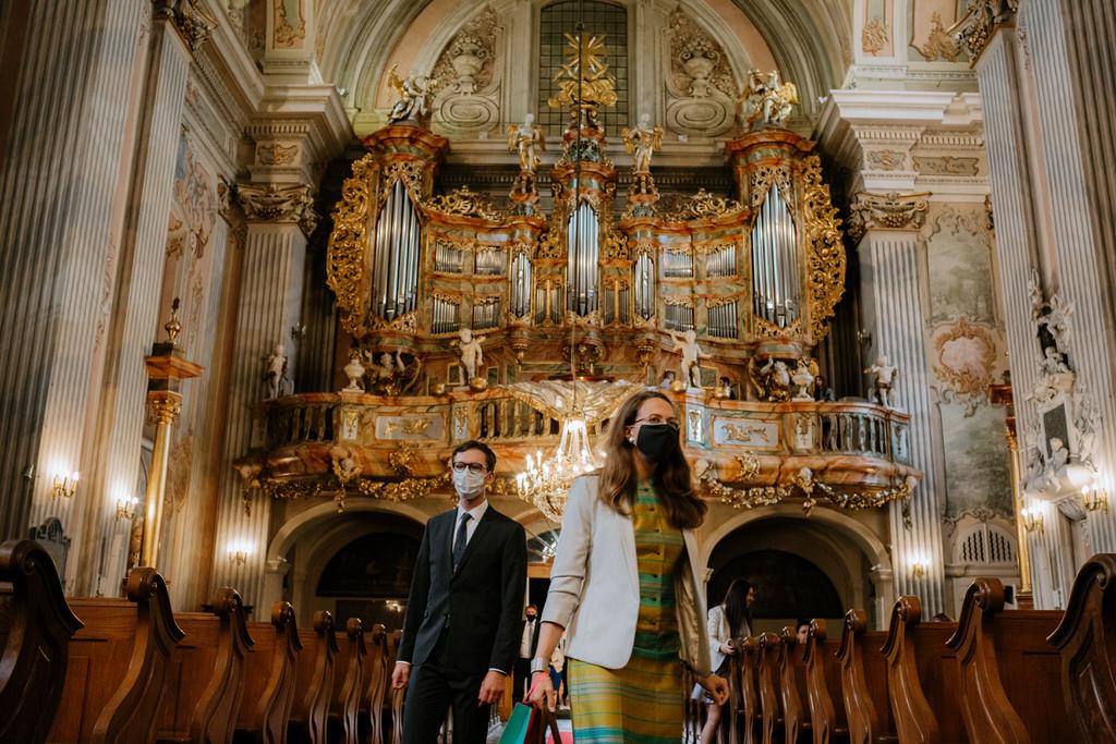 warszawa starówka ślub fotograf ślubny kościół św anny