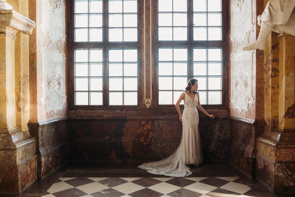opactwo lubiąż sesja ślubna wrocław warszawa fotograf ślubny goczkowski górecka Sesja ślubna w Lubiążu