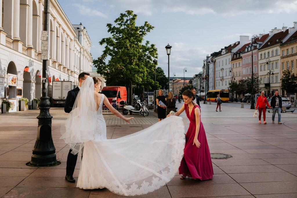 ślub na warszawskiej Starówce