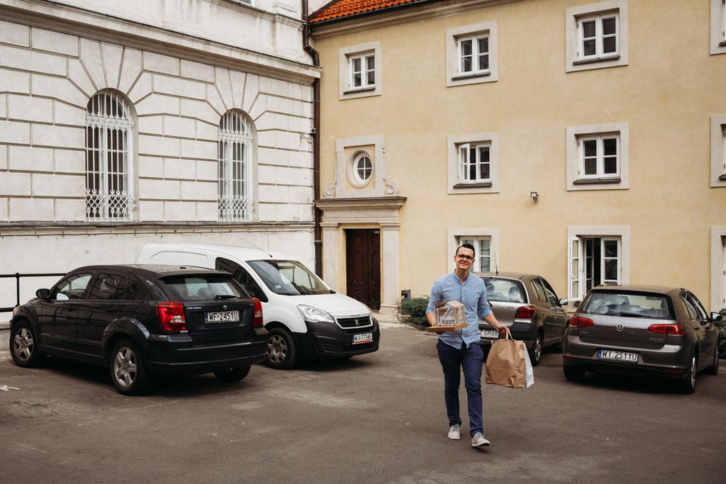 warszawa starówka stare miasto ślub na starówce fotograf ślubny goczkowski gorecka fotografia biblioteka rolnicza kościół św anny